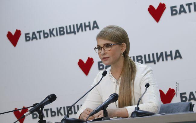 Тимошенко: першочергове завдання парламенту - затвердження плану боротьби з COVID-19