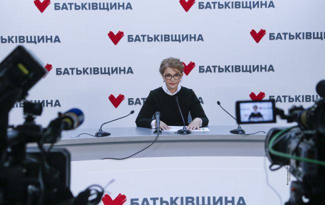 Тимошенко: зарплати освітян та лікарів мають бути для влади пріоритетом