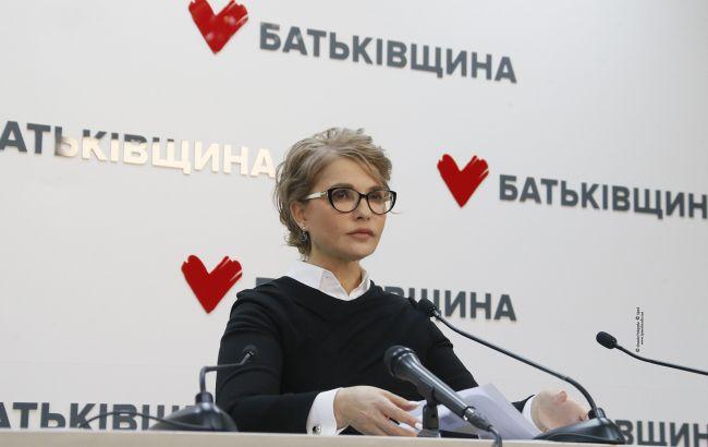 Тимошенко закликала консолідувати зусилля місцевих громад для захисту людей