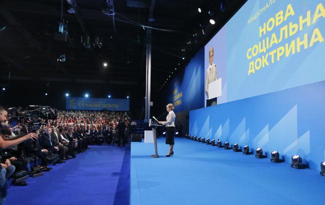 Середня зарплата українця має перевищувати 1 тис. дол., - Тимошенко