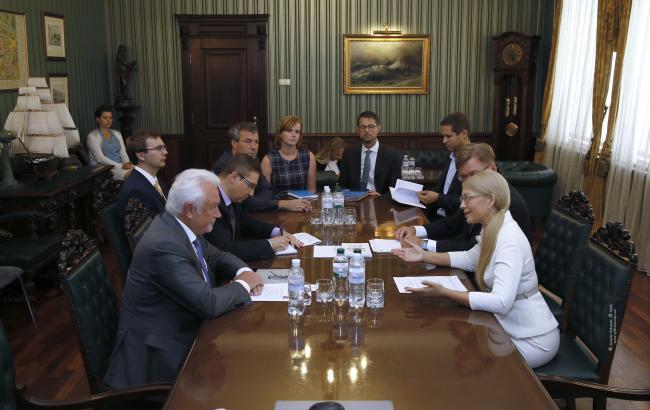 Тимошенко встретилась с вице-президентом Бундестага