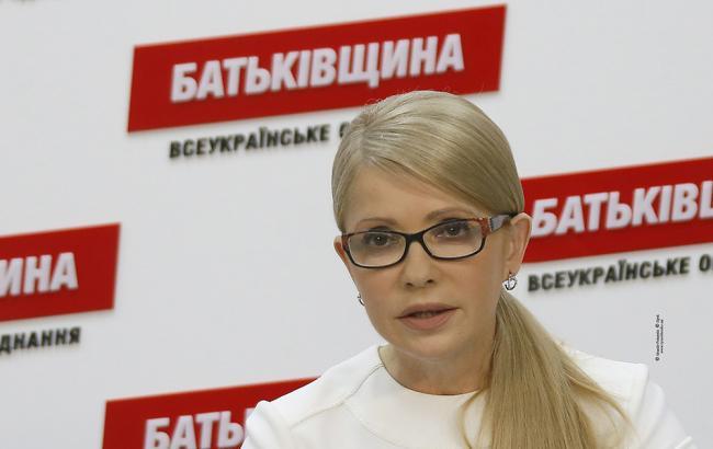Тимошенко требует наказать всех причастных к атаке на свободу слова в Украине