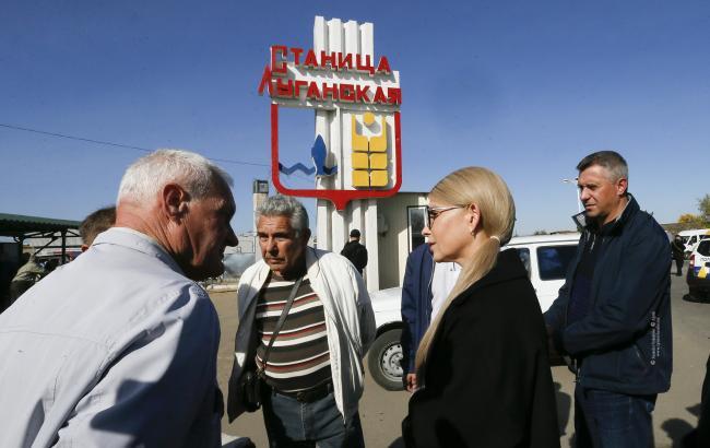 Тимошенко: новая власть займется развитием деоккупированных территорий