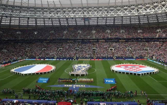Фото: матч Франция - Хорватия (fifa.com)