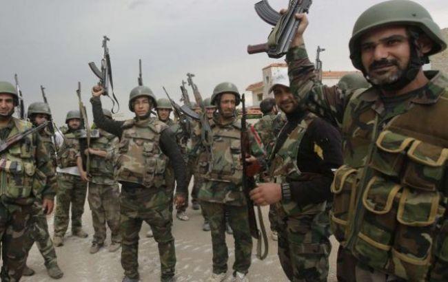Фото: правительственные войска Сирии