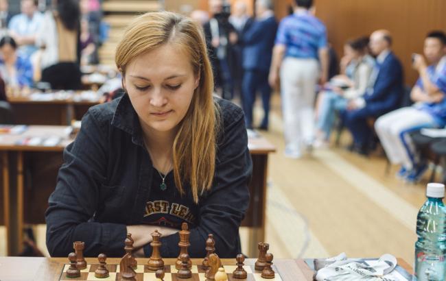 Українка стала бронзовою призеркою чемпіонату Європи з шахів