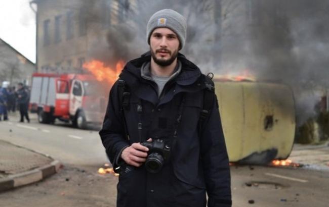 Раненый в Авдеевке британский журналист снова поехал на Донбасс