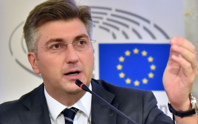 Фото: премьер-министр Андрей Пленкович предлагает поделиться опытом Хорватии