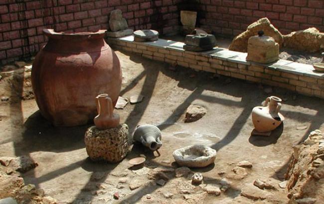 Фото: Результат археологічних розкопок (twitter.com)