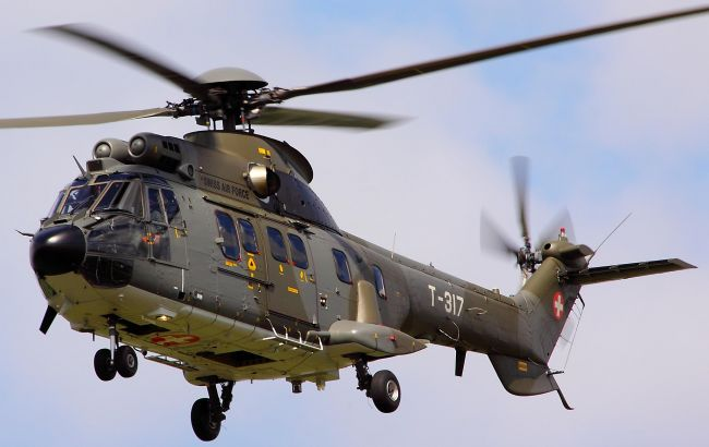 Фото: вертолет Eurocopter Super Puma