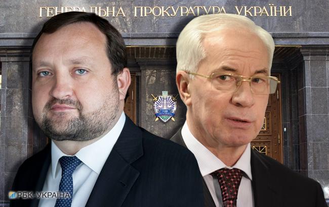 Фото: Сергей Арбузов и Николай Азаров (коллаж РБК-Украина)
