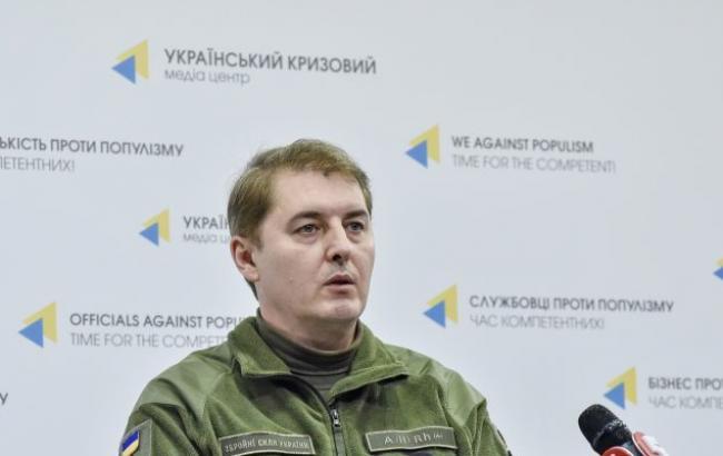 В зоне АТО боевики за сутки провели 9 обстрелов, ранен украинский военный