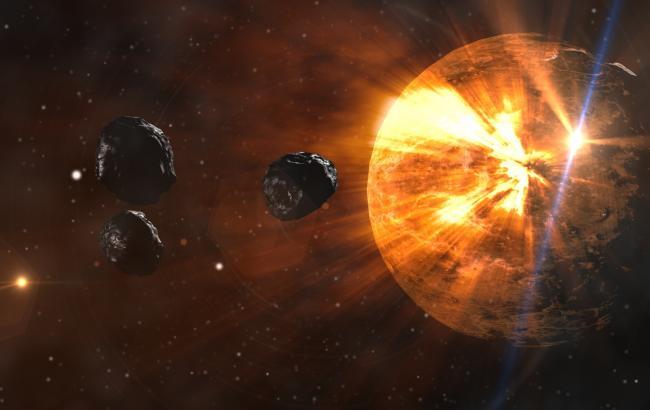 Фото: Величезна зірка осипле Землю осколками