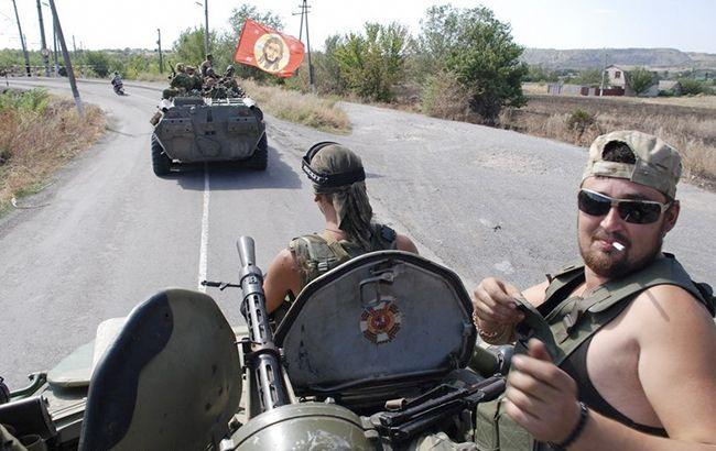Фото: проросійські бойовики (twitter.com/dubovoyslavyans)