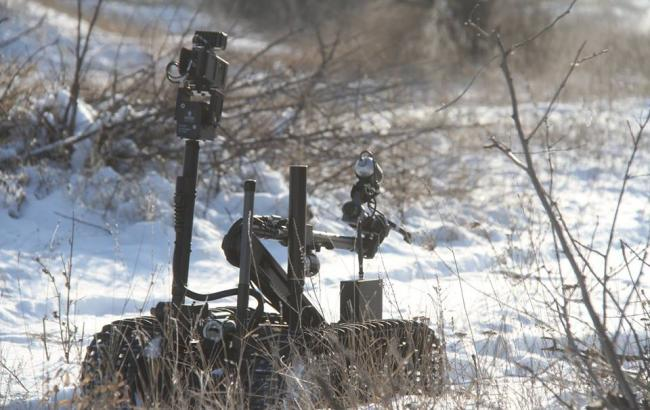Cапери ЗСУ знешкодили заборонену російську міну біля Світлодарська