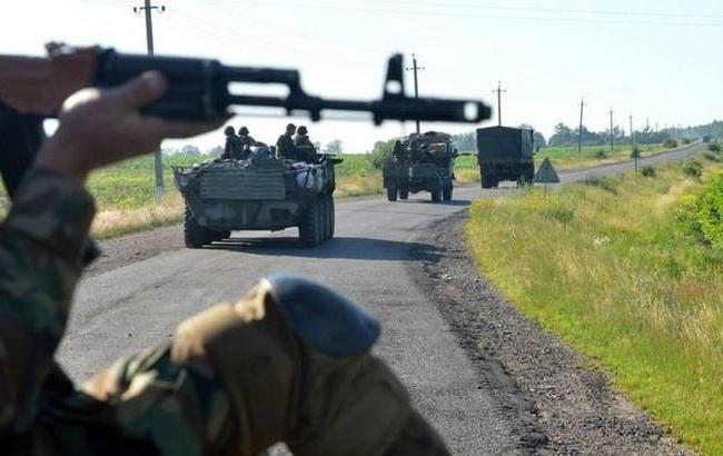 Боевики за сутки 10 раз обстреляли позиции сил АТО