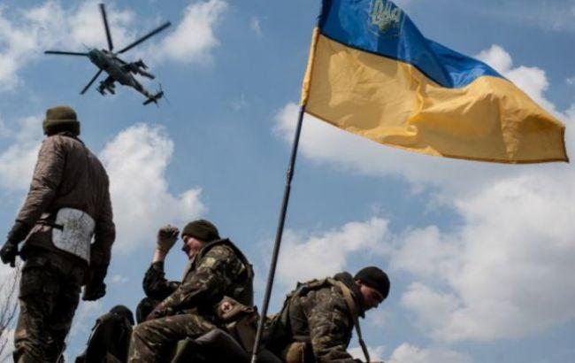 В результате обстрелов боевиков в зоне АТО ранены двое украинских военных