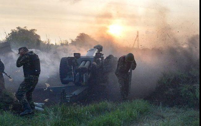 Под Мариуполем после ответа сил АТО ранен 51 боевик, - сектор
