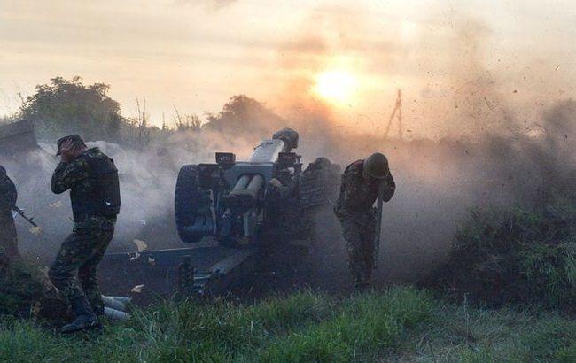 Штаб АТО: українські військові сьогодні відкривали вогонь у відповідь з БМП і гранатометів