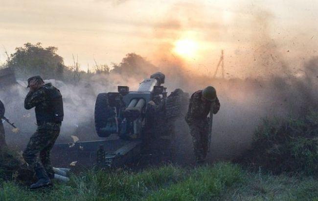 Бойовики за добу 10 разів порушили перемир'я на Донбасі, - штаб АТО