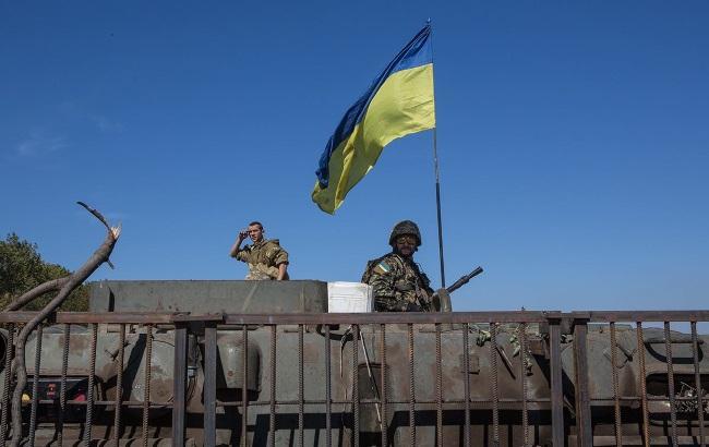 Фото: позиции сил АТО подверглись нападению с попощью беспилотника