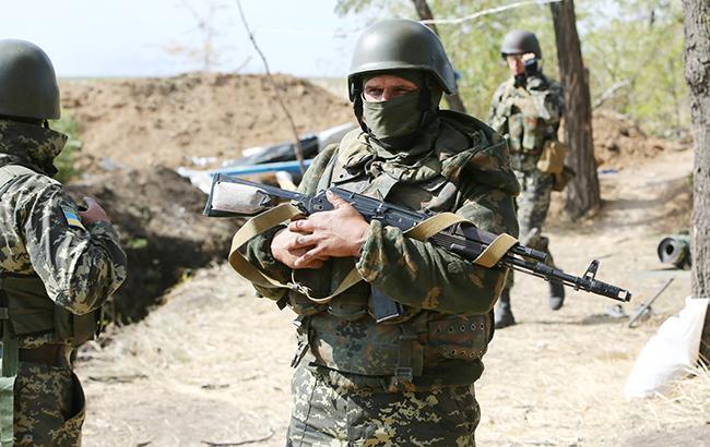 В зоні АТО за добу поранено 1 військового, загиблих немає