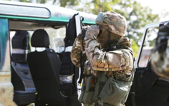 Українські військові в ході рейду на Донбасі захопили трьох бойовиків