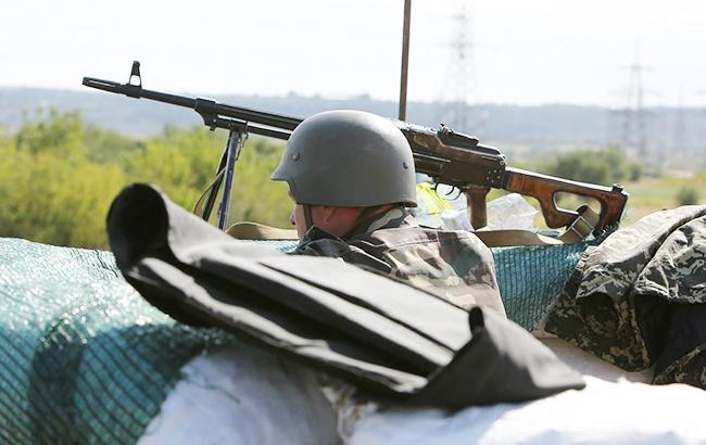 Террористы вчера вечером обстреляли контрольный пост «Майорск»