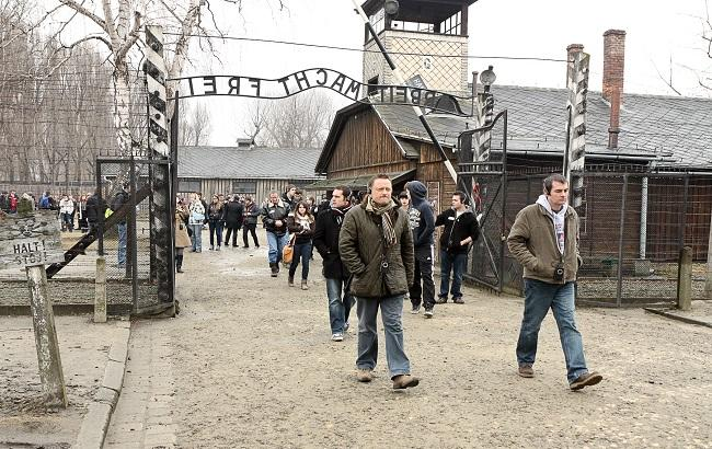Фото: концлагерь Аушвиц-Биркенау