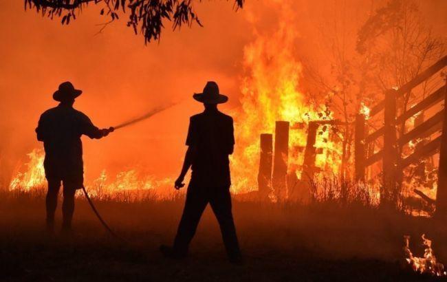 Пожары в Австралии прервали работу мельбурнского аэропорта