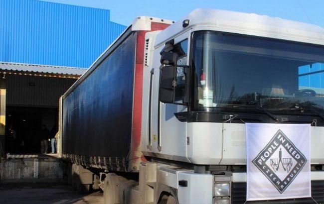 НаДонетчине боевики непропустили фургоны сгуманитарной помощью