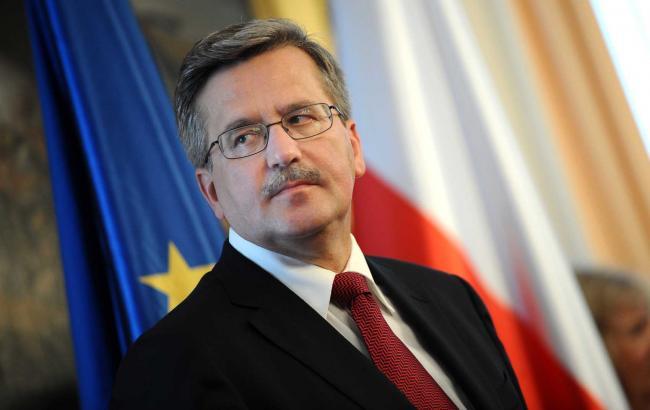 Президент Польщі сьогодні вперше виступить в Раді