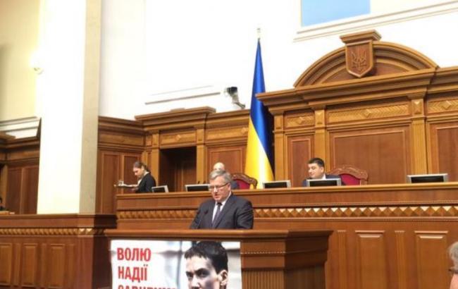 ЄС і НАТО визнають територіальну цілісність України в межах 1991 р., - Коморовський