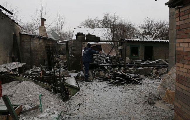 Фото: Авдеевка после артобстрелов