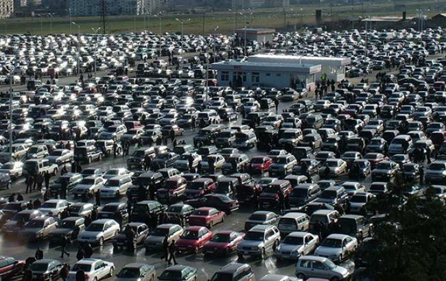 Первичный рынок б/у автотранспорта в ноябре упал на 25%