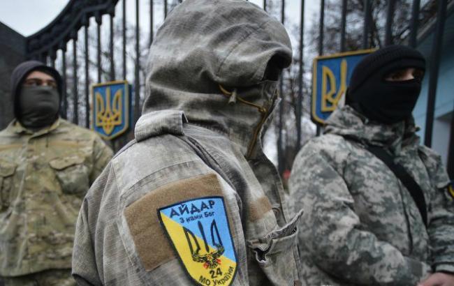 СБУ засекретила данные о личном составе батальона