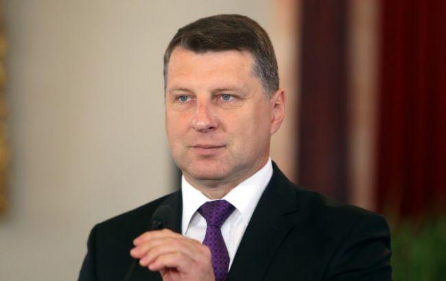 Фото: президент Латвии Раймондс Вейонис