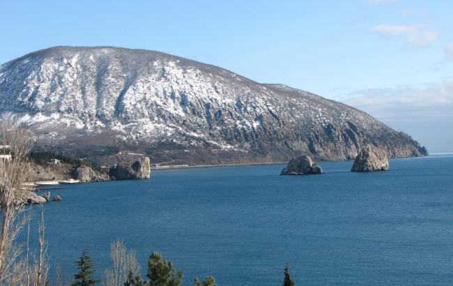 Фото: зимний Крым