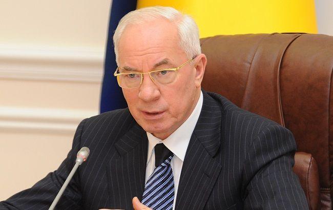 """Азаров создаст """"правительство Украины в изгнании"""""""