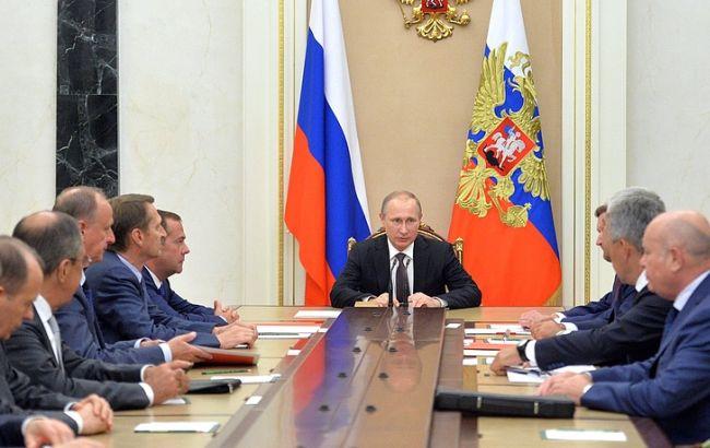 Фото: засідання Радбезу Росії