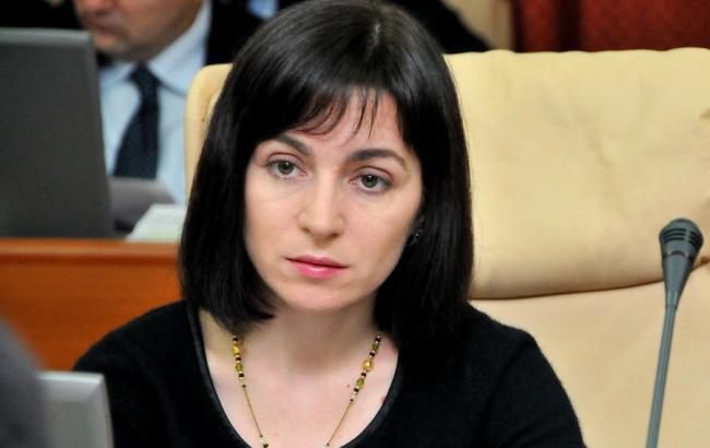 Фото: кандидат в президенты Молдовы Майя Санду