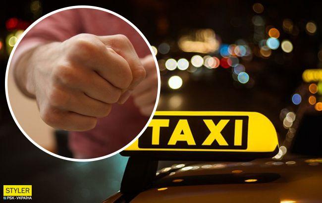 В Николаеве пассажир такси напал на патрульного полицейского