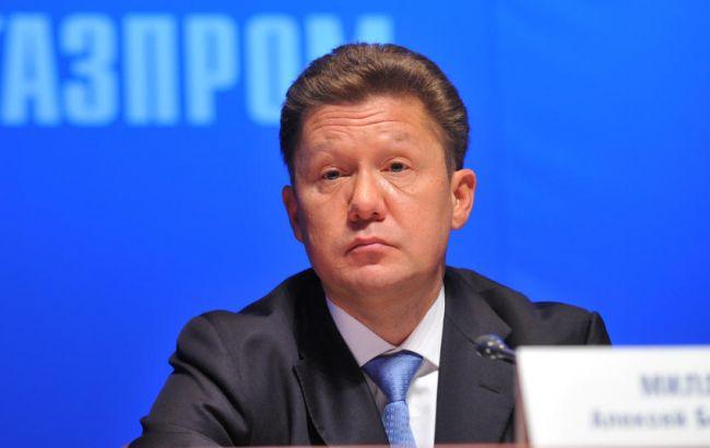 """Нафтогаз"" задолжал ""Газпрому"" 174,2 млн долл. за поставки газа на Донбасс, - Миллер"