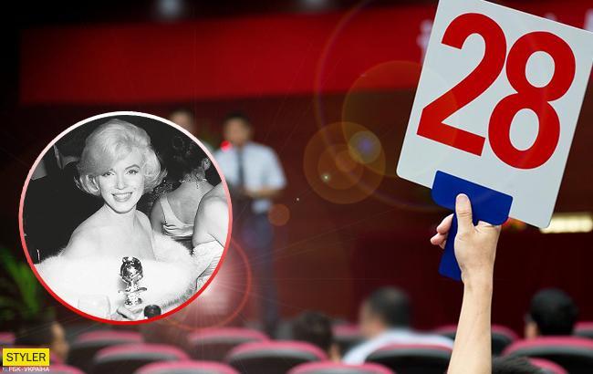 """""""Золотий глобус"""" Мерилін Монро пішов з аукціону за рекордно високу суму"""
