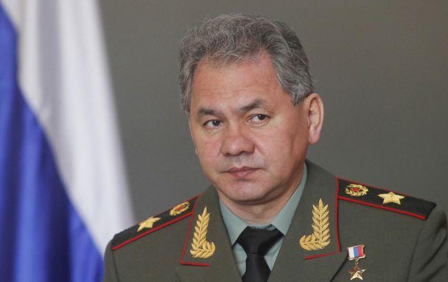 Фото: министр обороны РФ Сергей Шойгу