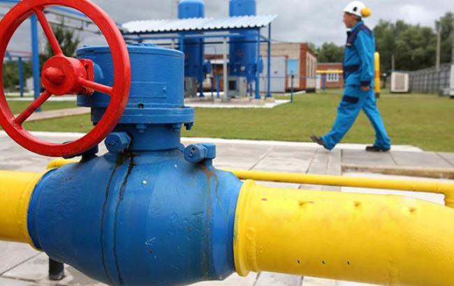 Кількість газу в ПСГ України скоротилося на 0,26% - до 15,503 млрд куб. м