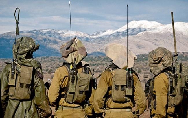 Фото: солдаты на Голанских высотах