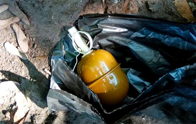 В центре Харькова обнаружили боевую гранату