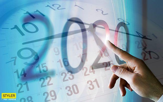 Праздники и выходные в 2020 году: появился календарь на следующий год