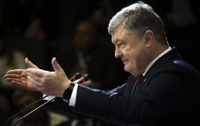 Порошенко: лидеры европейских стран считаются с государством Украина